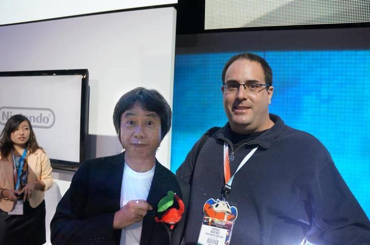 con Shigeru Miyamoto