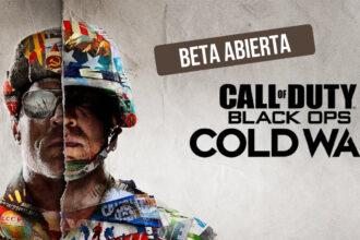call of duty cold war beta abierta