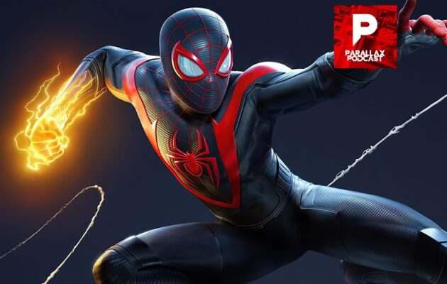 Parallax Podcast Spider-Man Miles Morales