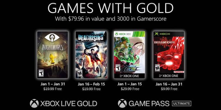 xbox gold juegos gratis enero 2021