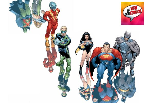 comics jla earth 2 tierra 2