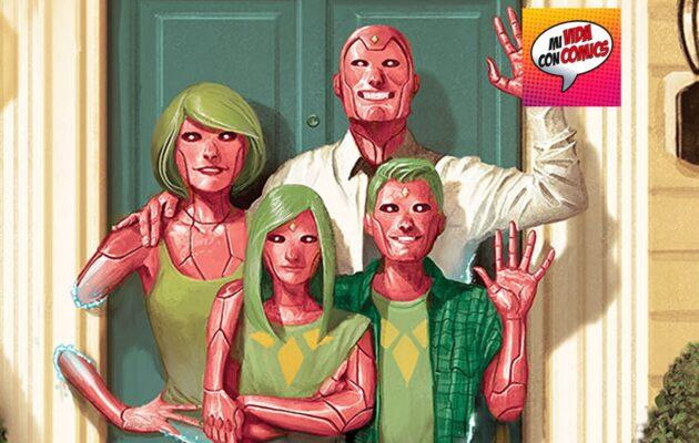 the vision parallax comics